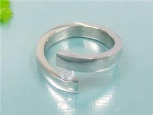 Oceľový prsteň OPR1103 veľ.  51