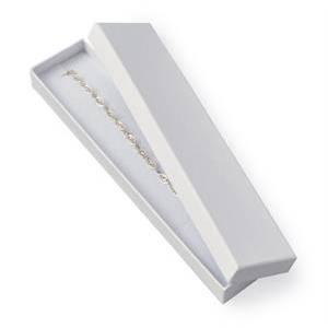 Darčeková krabička na náramok biela