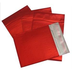 Darčekový sáčok červený matný 75 x 120 mm