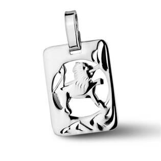 Šperky4U Stříbrný přívěšek znamení LEV - ZB51255-8