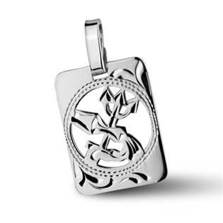 ZB51255-2 Stříbrný přívěšek znamení VODNÁŘ