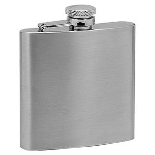 Ocelová kapesní lahev - placatka 180ml 97028