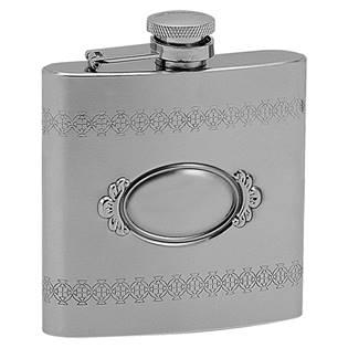 Ocelová kapesní lahev - placatka 180ml 97025