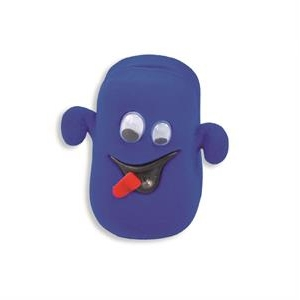 Semišová darčeková krabička - strašidielko modré