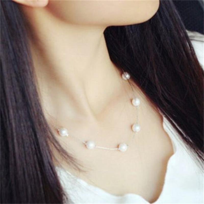 Náhrdelník s perličkami