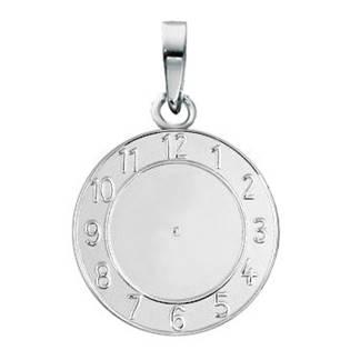 Stříbrný přívěšek křtící hodiny