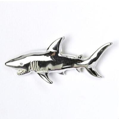 Strieborný prívesok ryba žralok