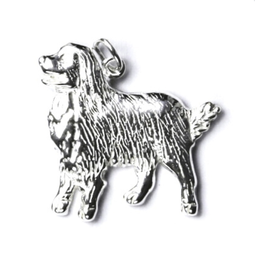 Strieborný prívesok bernský salašnícky pes