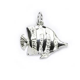 Stříbrný přívěšek rybka