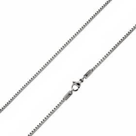 Ocelový řetízek čtvercový, tl. 2 mm OPE1007-020