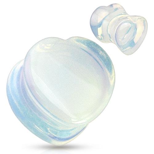 Plug do ucha srdce - opalit, průměr 12 mm