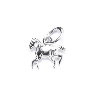Drobný stříbrný přívěšek kůň