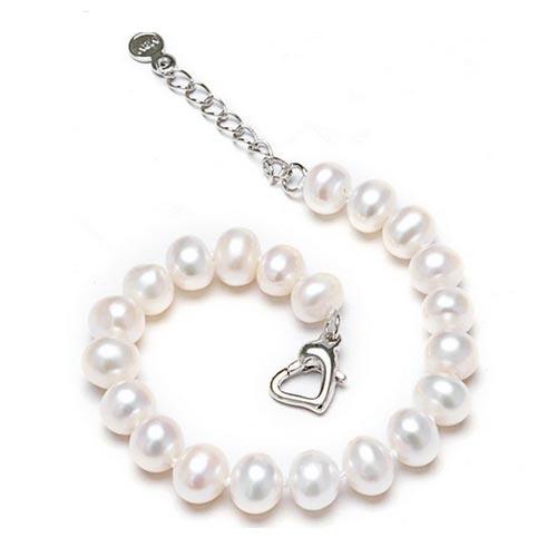 Perlový náramok z riečnych perál