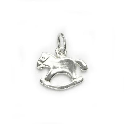 Stříbrný přívěšek - houpací koník