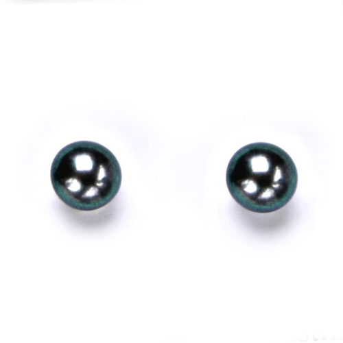 Šroubovací stříbrné náušnice přírodní perly 5,5 mm