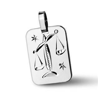 ZB511430-10 Stříbrný přívěšek znamení VÁHY