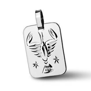 ZB511430-07 Stříbrný přívěšek znamení RAK