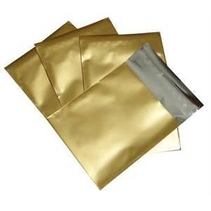Dárkový sáček zlatý matný 60 x 70 mm