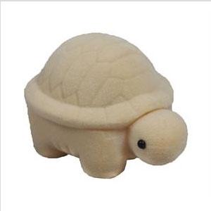 Darčeková krabička semiš - korytnačka krémová