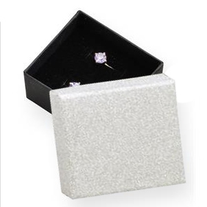 Darčeková krabička strieborná / čierna