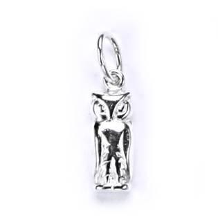 Stříbrný přívěšek - sovička