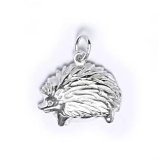 Stříbrný přívěšek - ježek