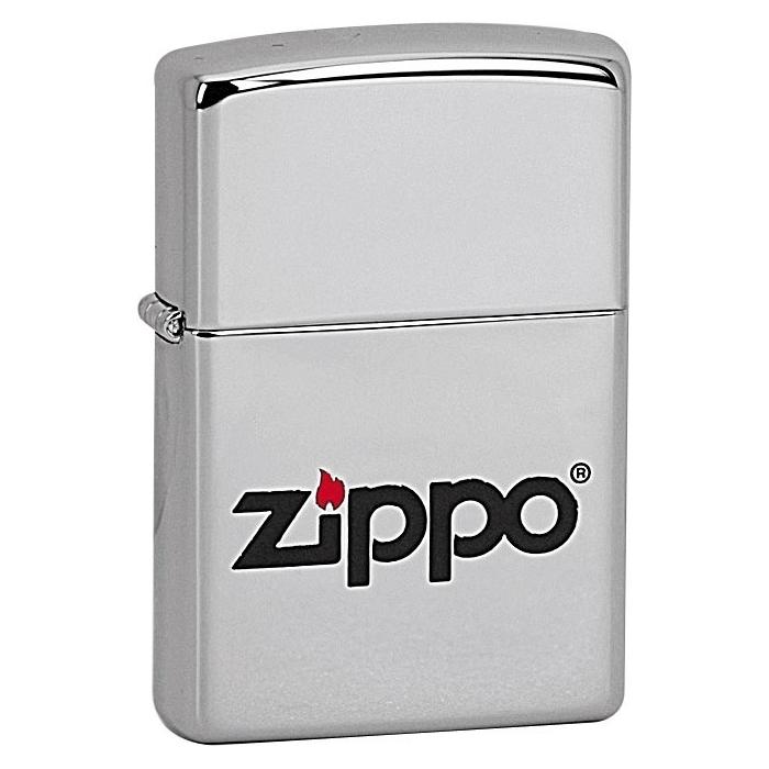 ZIPPO Zippo Logo LC - benzínový zapalovač 22730