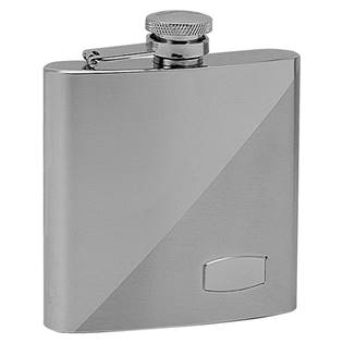 Ocelová kapesní lahev - placatka 180ml 97033