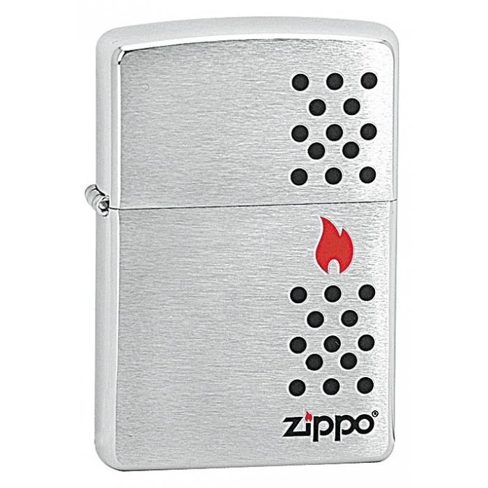 ZIPPO Chimney - benzínový zapalovač broušený 21513