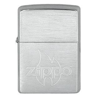 ZIPPO Baseball Cap Flame - benzínový zapalovač broušený