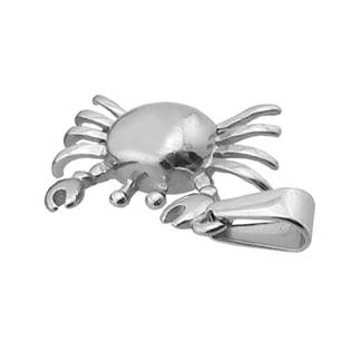 Ocelový přívěšek - krab