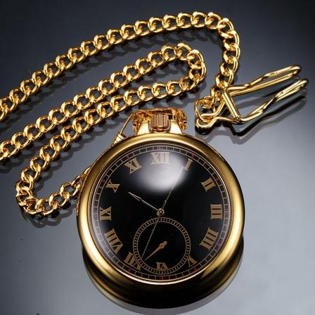 Vreckové hodinky pozlátené - cibule
