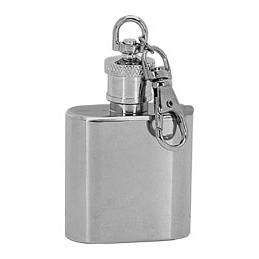 MINI vreckový fľašu - ploskačka, prívesok na kľúče 30ml