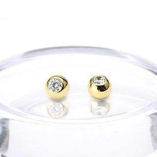 Náhradná guľôčka zlatá 1,6 x 4 mm, 585/1000