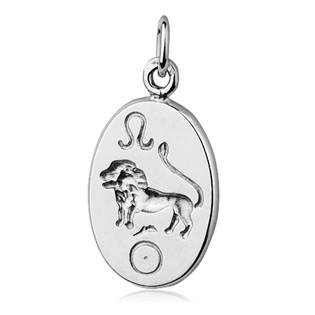 Šperky4U Stříbrný přívěšek znamení LEV - CS3002-8
