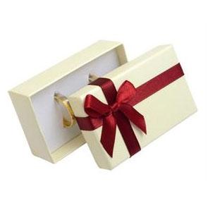 Darčeková krabička na snubný prsteňe