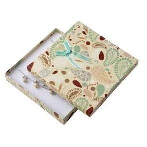 Darčeková krabička na súpravu šperkov strednej