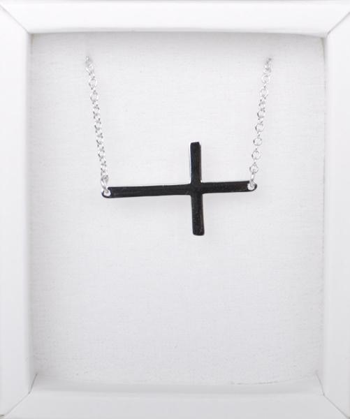 Strieborná retiazka - krížik