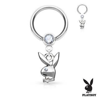 Piercing - kruh Playboy 1,2 x 10 mm