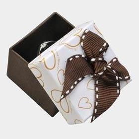 Darčeková krabička sa na prsteň