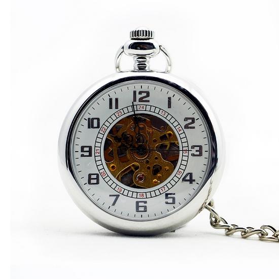 Mechanické vreckové hodinky - cibule