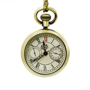 KH0039 Retro malé kapesní hodinky - cibule