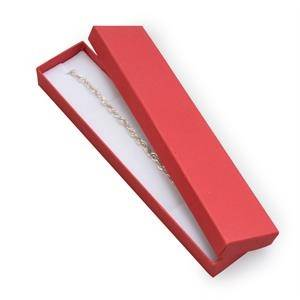 KR0046-RD Dárková krabička na náramek červená