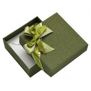Vánoční dárková krabička na soupravu šperků