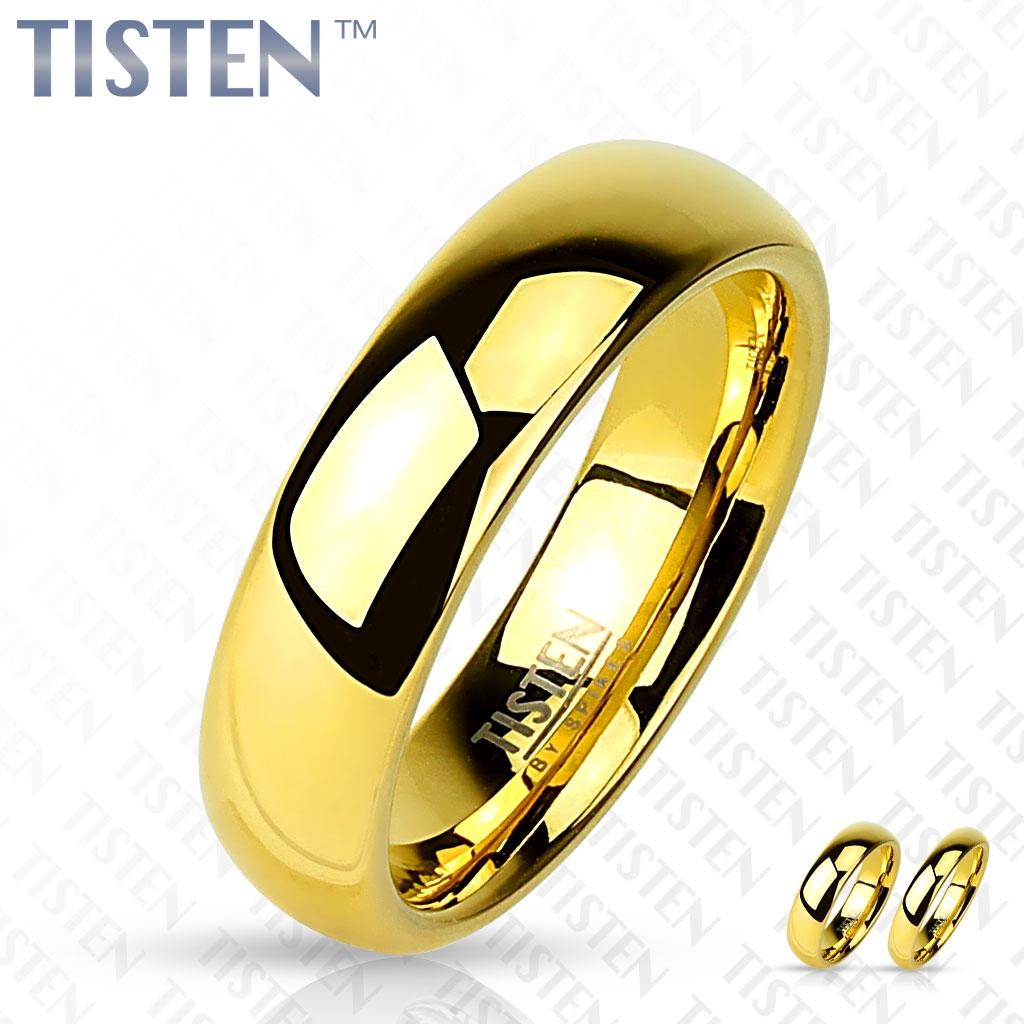 Snubný prsteň TISTEN, šírka 4 mm, veľ. 68