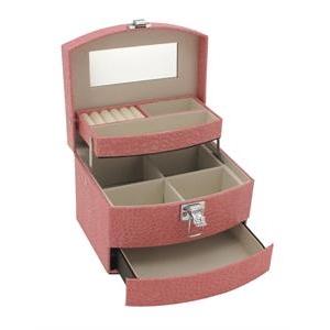 Šperkovnice - růžová koženka SVK1070-P