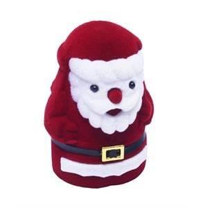 Vánoční dárková krabička na prsten - Santa Claus