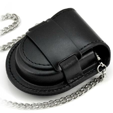Kapsička na vreckové hodinky čierna