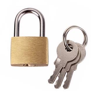 Minizámeček se 3mi klíči rozměr 30 x 20 mm