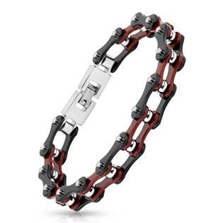 Pánský ocelový náramek - řetěz